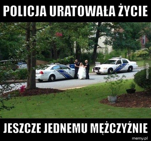 Bohaterska policja - Memy.pl