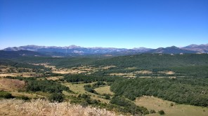 Stunning view of the Cantabrian Mountain range