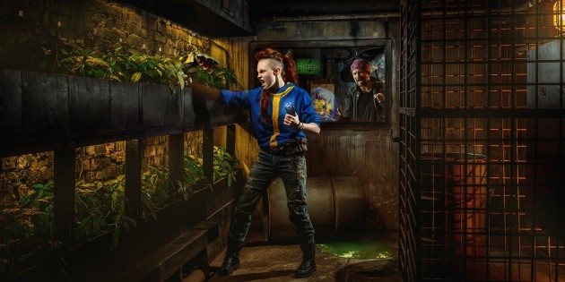 "Advertising for Claustrophobia, ""Vault 13,"" escape room"