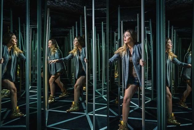 Labirintarium's mirror maze