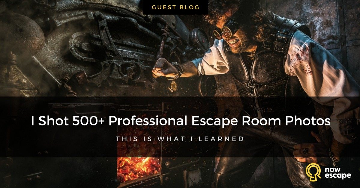 I Shot 500+ Professional Escape Room Photos. This is What I Learned