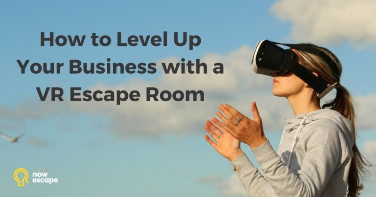 How to upgrade your escape room business with VR (2019 Update)