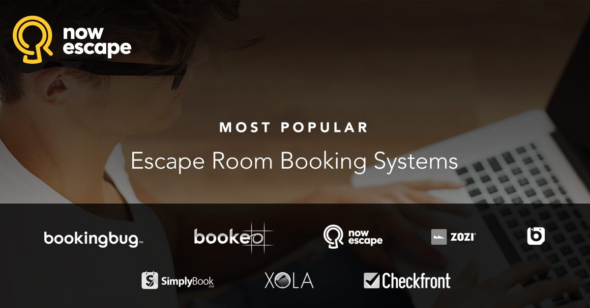 Most Popular Escape Room Booking Systems