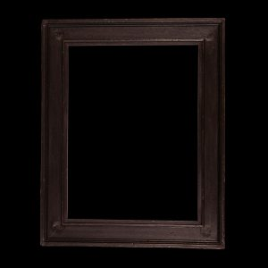 black antique picture frame