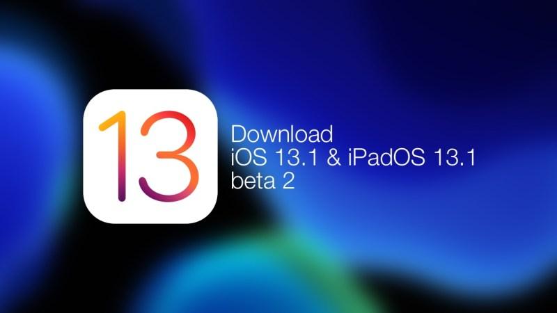 Rilasciato iOS 13.1 beta 2