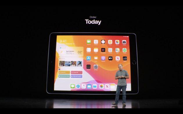 Nuovo iPad di settima generazione, da 10.2″