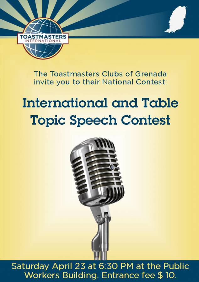 toastmasters national speech contest
