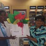 National Queen receives Gifts from Platinum Sponsor
