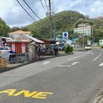 Police Move Grand Anse Bus Stop at 'Wall Street'