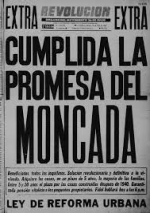 la promesa del moncada - revolución cubana