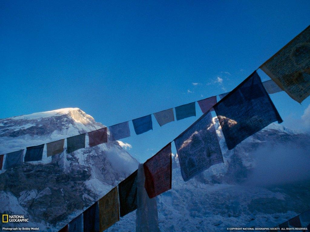 Everest Prayer Flags