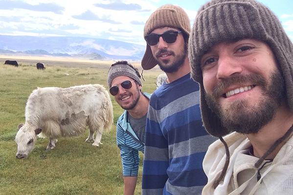 Hangin' with Mongolian yaks