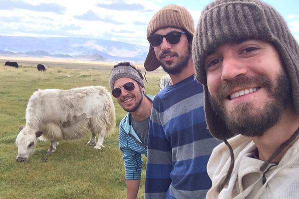 Hangin' with Mongolian yaks