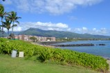 View from the Maui Beach Hotel