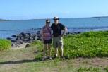 My Dad and I outside the Maui Beach Hotel