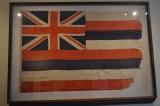 An Old Hawaiian Flag, originally designed in 1812