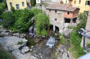 An old mill in Loro Ciuffenna