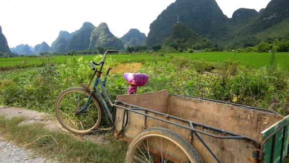 Chine 7 Juillet - Balade à Vélo Yangshuo 003