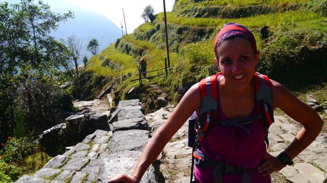 trek nepal pour les nils