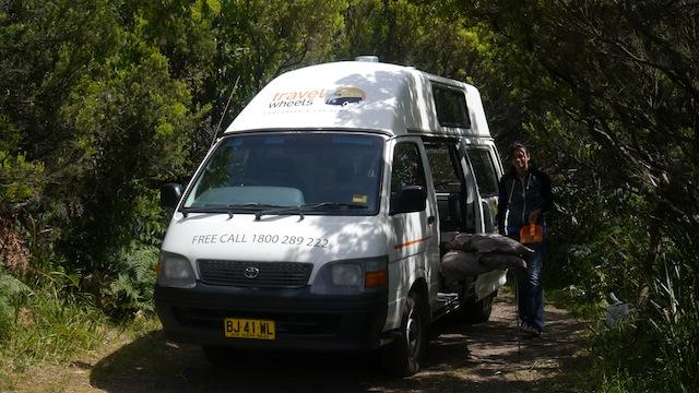 australie camper van