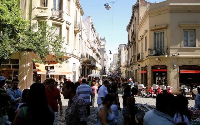 San Telmo - jour de marché