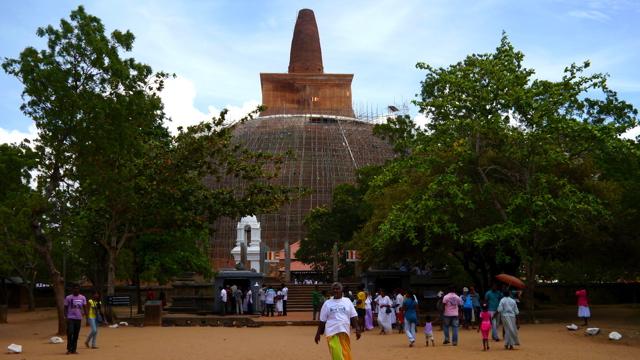 voyage au Sri Lanka: Anuradhapura