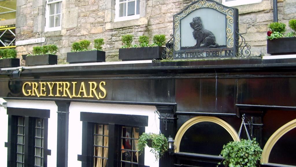 Greyfriars Bobby Bar manger et boire à edimbourg