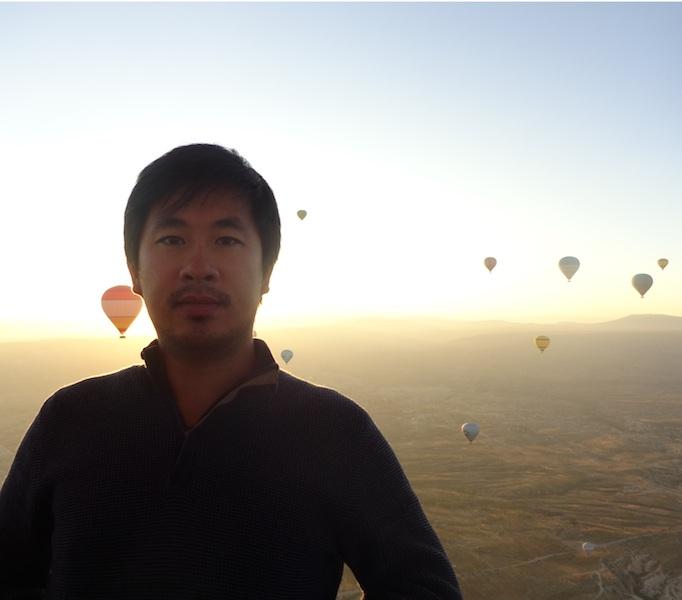 Tanned montgolfiere lever du soleil photo 7