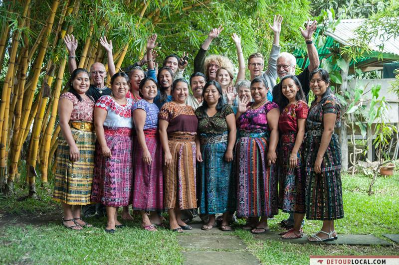 Élèves et professeurs au Guatemala