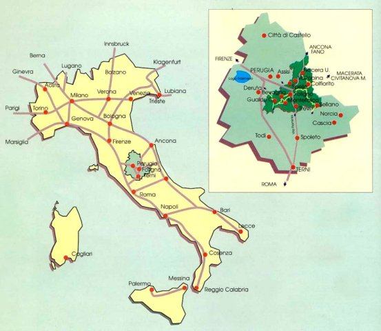 Ombrie en Italie