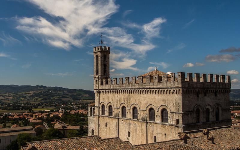 Gubbio et Le Palazzo dei Consoli