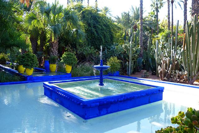 Jardins de Majorelle à Marrakech