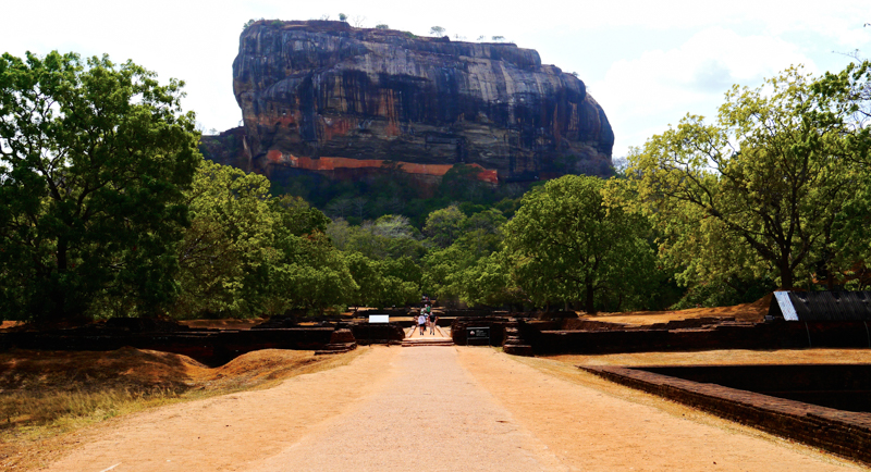 Le rocher de Sigirya