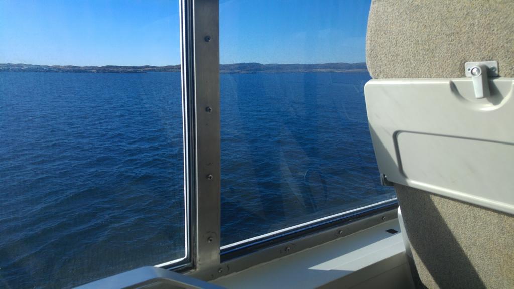 3h de rêverie sur les eaux bleues de la mer de Norvège
