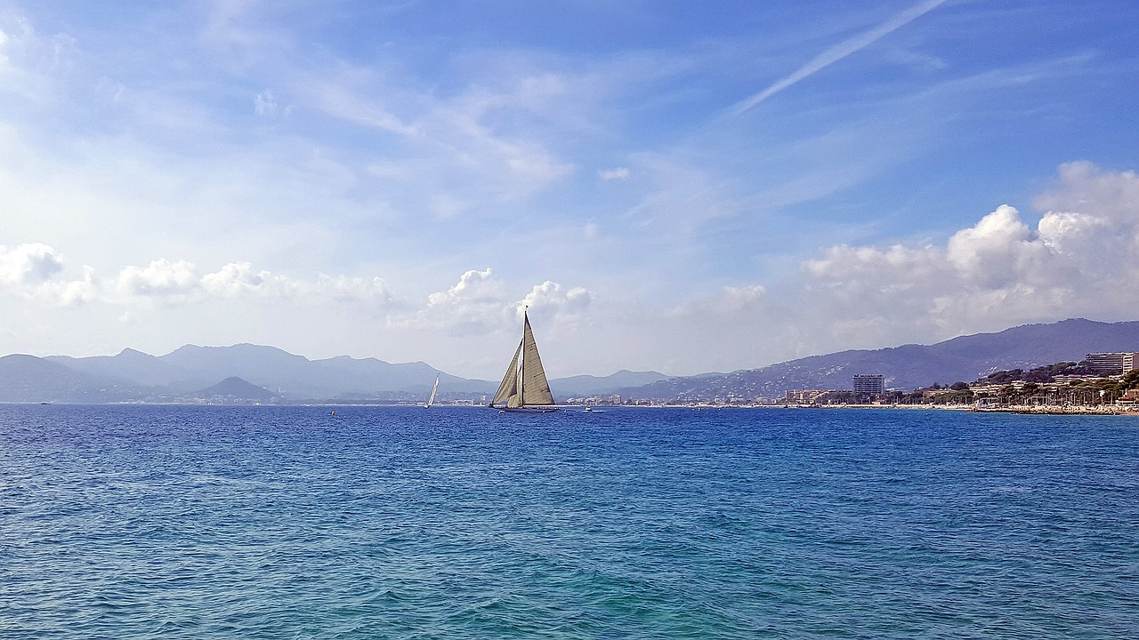 sortie en voilier dans les îles d'or au large d'Hyères