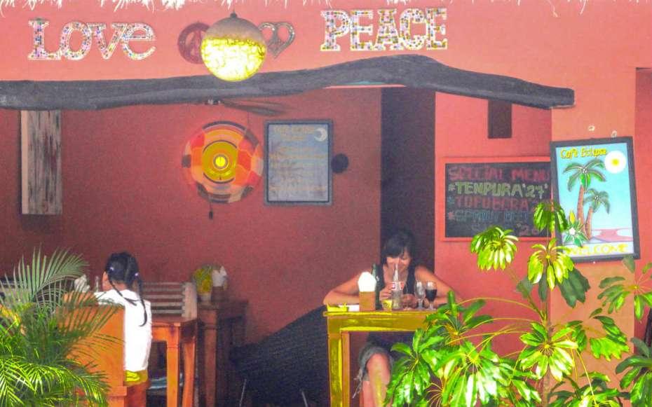 Boire un verre à Ubud