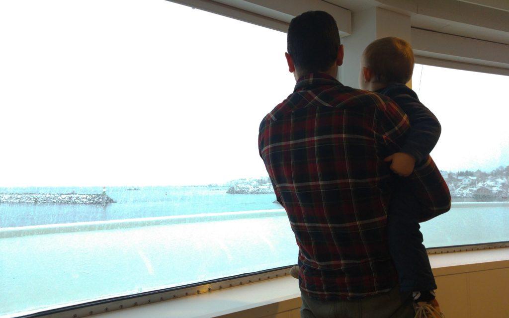 traversée en ferry pour rejoindre les Lofoten
