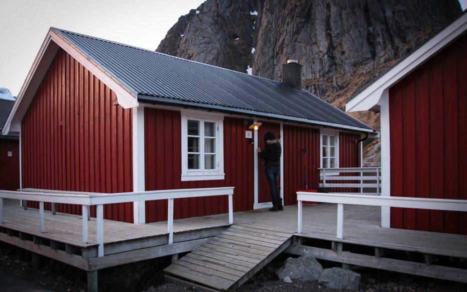 Notre arrivée aux Lofoten