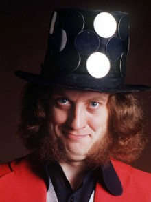 Noddy with his little hat on.