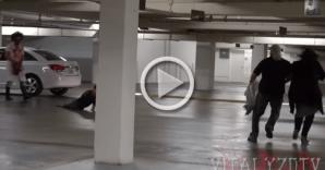 #Curiosidades: Broma de la motosierra en el estacionamiento, se vuelve viral.