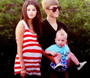 #NowNews ¡ Miley Cyrus y Selena Gomez han sido embarazadas por Justin Bieber !