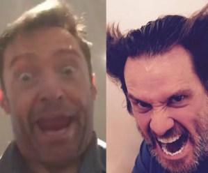 #NowNews: ¡ Mira como Hugh Jackman imita a Jim Carrey y viceversa !