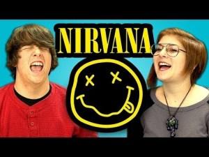 #Video ¿Como reaccionan los adolescentes de hoy con la música de Nirvana?