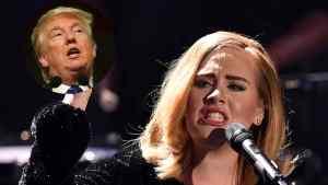 #NowNews: Adele está molesta por el uso de su música en la campaña de Trump