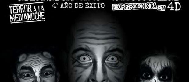 #Terror ¡ Sordo, Mudo, Ciego ; Una obra en 4D que no te puedes perder !
