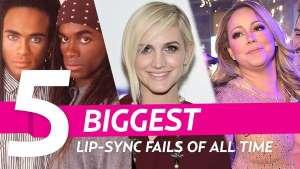 #Especial ¡ 5 grandes Playbacks que arruinaron el momento de estas estrellas !