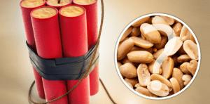 #Curiosidades : ¡Mira por qué los cacahuates pueden ser usados como explosivos!