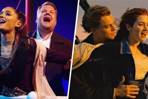"""#LoMasViral Este es el performance de """"Titanic"""" con Ariana Grande"""