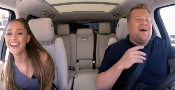 #NowNews Ariana Grande impresiona en el Carpool Karaoke