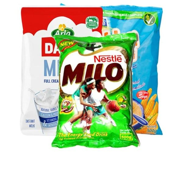 Image of bundles of beverages on Now Now Express for sending beverages to Nigeria